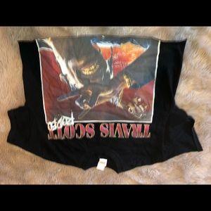 Travis scott rodeo cropped shirt